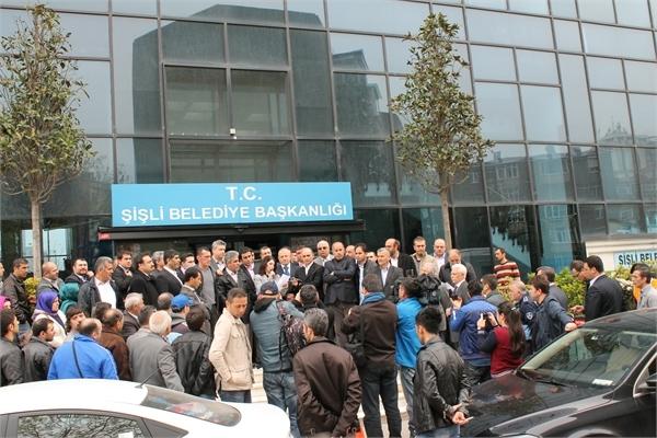 Ayazağalılar Şişli Belediyesini protesto etti galerisi resim 12