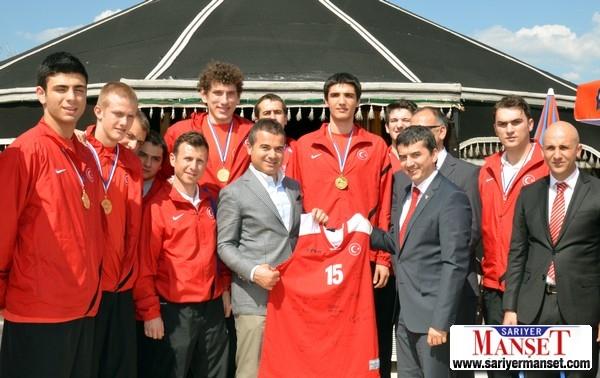 Dünya şampiyonu Ankarada ağırlandı galerisi resim 2