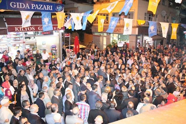 AK Parti'nin açılışı mitinge dönüştü galerisi resim 43