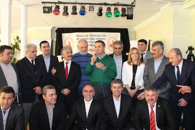 Sivaslılar seçim öncesi bir araya geldi galerisi resim 31