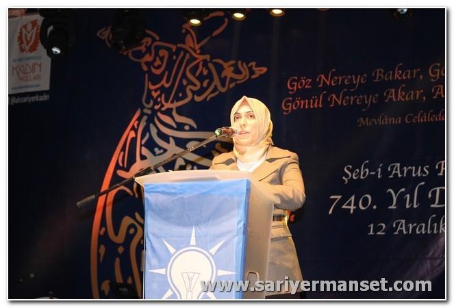 AK Partiden Mevlanayı Anma ve Hoşgörü günü galerisi resim 17