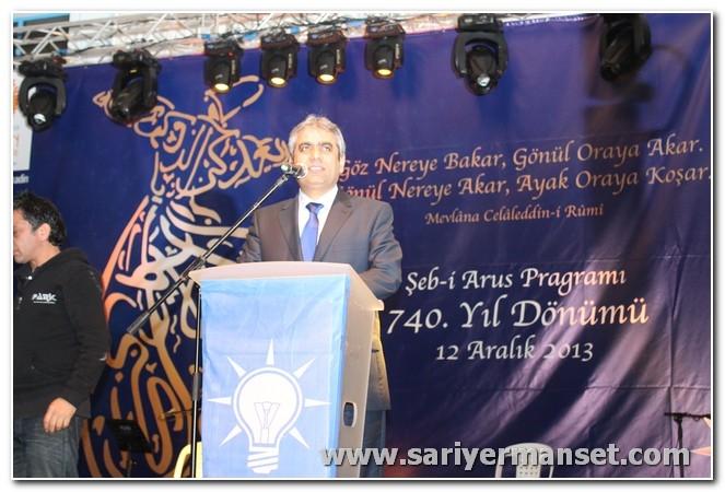 AK Partiden Mevlanayı Anma ve Hoşgörü günü galerisi resim 18