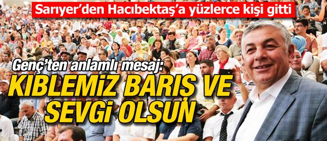 Sarıyer'den Hacıbektaş'a yüzlerce kişi gitti