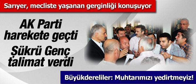AK Parti harekete geçti, Şükrü Genç talimat verdi