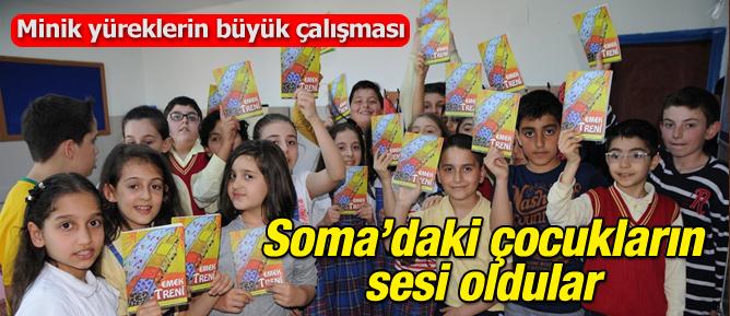 Soma'daki çocukların sesi oldular
