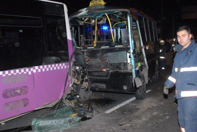 Sarıyer Hacıosman'da kaza, Sarıyer trafik kazası