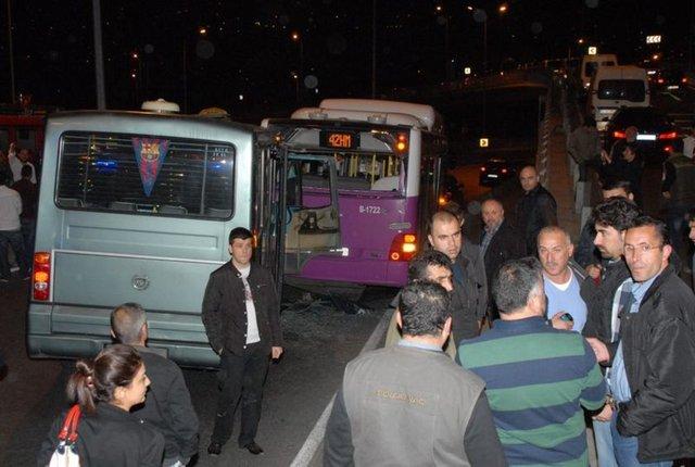 Sarıyer Hacıosman'da kaza, Sarıyer trafik kazası 2