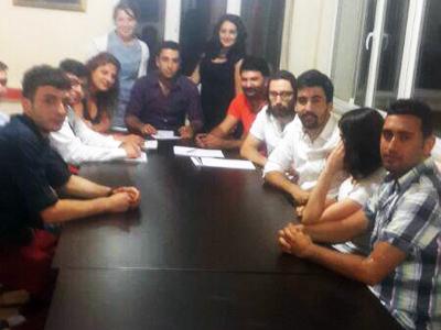 CHP Sarıyer Gençlik Kolları Yönetimi Vefa Ok