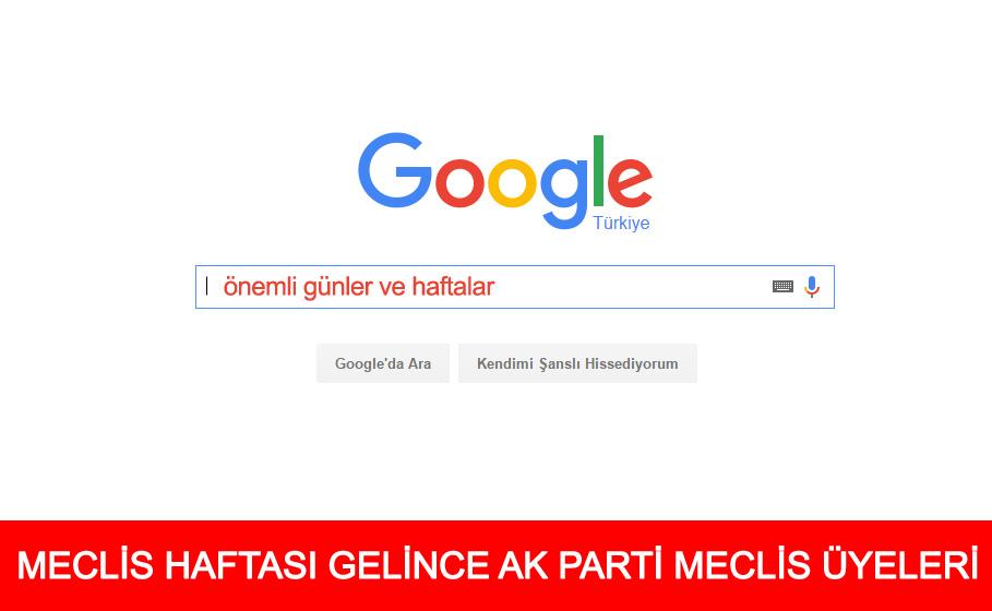 Meclis Haftası AK Parti Sarıyer Meclis Üyeleri (temsili değil)