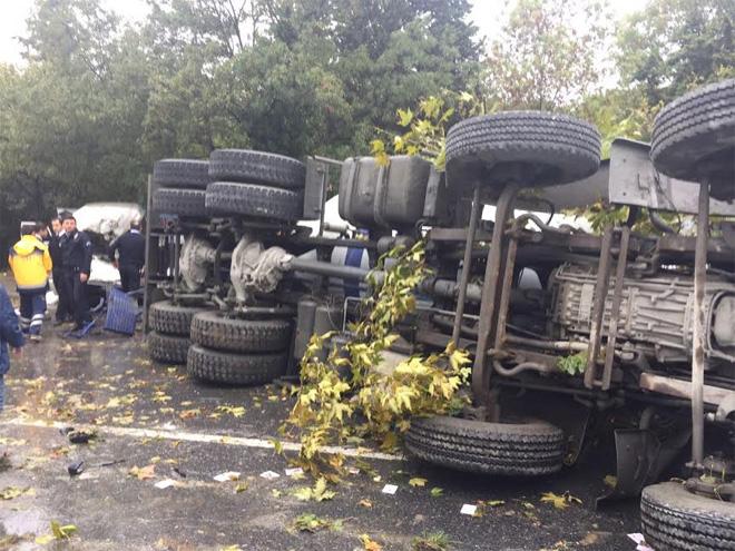 Sarıyer Derbent Maslak Beton Mikseri Kazası