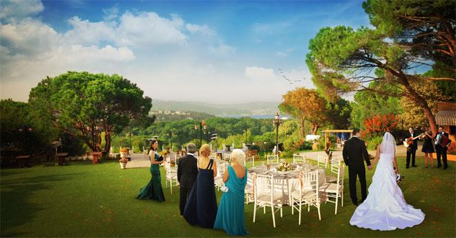 secret garden düğün