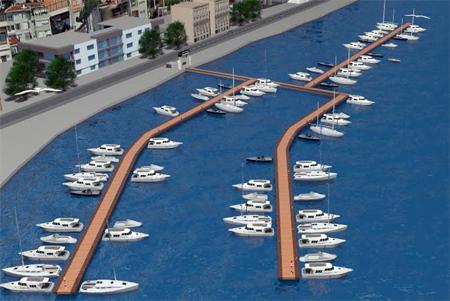 İSPARK Bebek Tekne Park Projesi