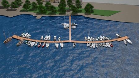 İSPARK Beykoz - Paşabahçe Tekne Park Projesi
